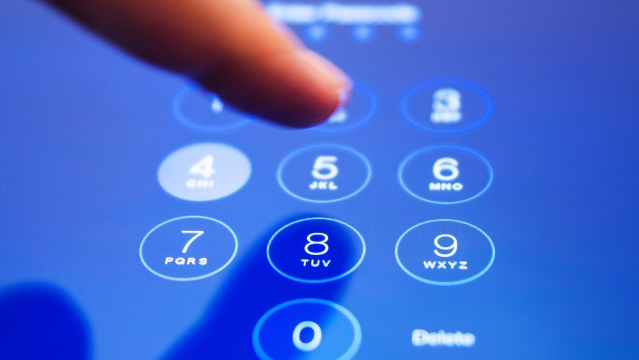 Iris scanners will replace 4-digit passcode option. (Photo: iStock)