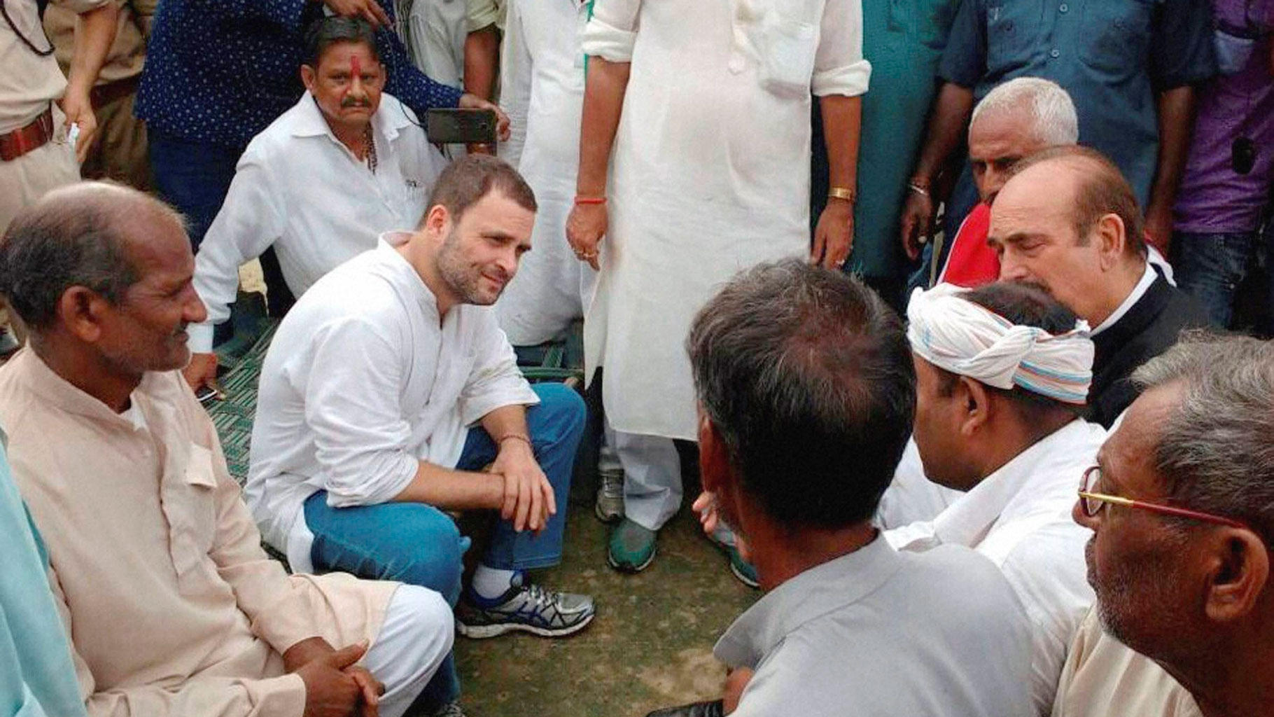 If Cong Forms Govt, Indebted Farmers Won't Be Sent to Jail: Rahul
