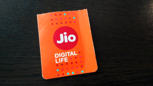 Reliance Jio 4G SIM. (Photo: <b>The Quint</b>)