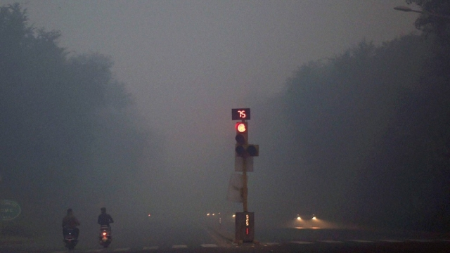 Smog covers Delhi. Image used for representational purpose. (Photo: PTI)