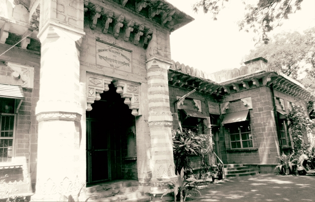 The JN Tata Research Hall at the Bhandarkar Oriental Research Institute, Pune. (Photo Courtesy: Tata Central Archives)