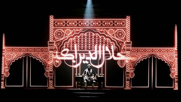 Mughal-E-Azam sets a new standard of quality & scale in theatre with the play decked in decadence in all aspects. (Photo courtesy: <b>The Quint</b>/Pallavi Prasad)