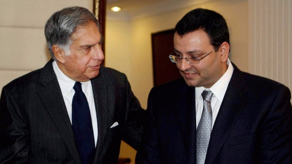 Ratan Tata and Cyrus Mistry. (Photo: IANS)