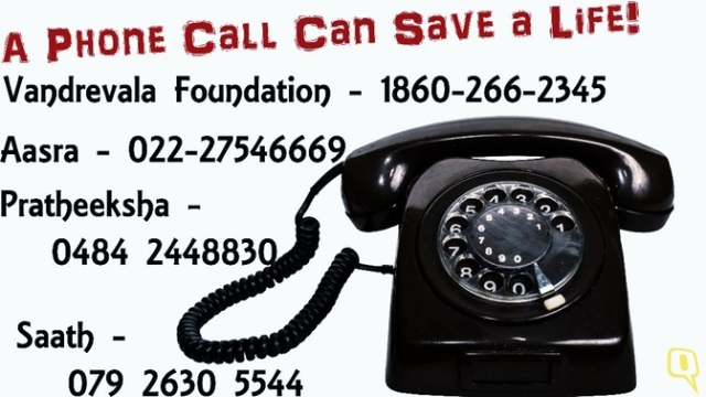 If you have a friend who is visibly anxious or depressed make them seek medical help. As a start, these helpline numbers will lend a ear to those in distress. (Photo: Nikita Mishra/<b>The Quint</b>)