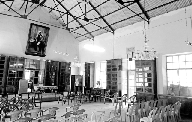 The Sir Ratan Tata Iranian and Semitic Hall at the Bhadarkar Oriental Research Institute, Pune. (Photo Courtesy: Tata Central Archives)