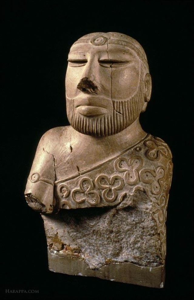 "The Priest King, one of the artefacts which is in Pakistan. (Photo Courtesy: Facebook/<a href=""https://www.facebook.com/AncientIndus/"">@AncientIndus</a>)"