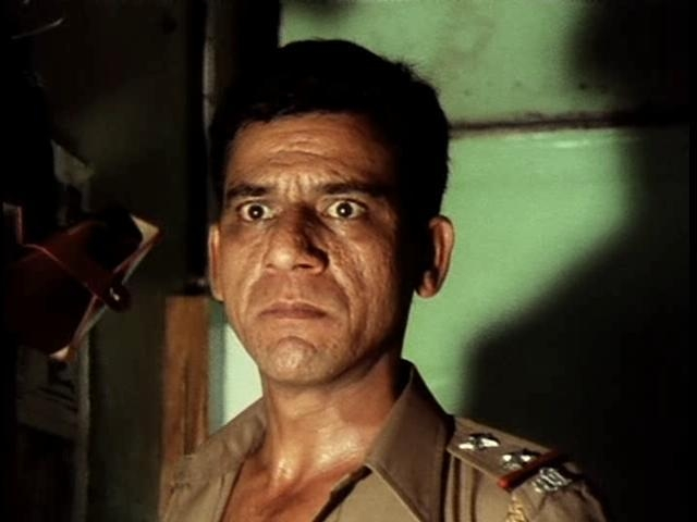 Om Puri in a still from <i>Ardh Satya.</i>