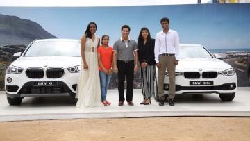 Sachin Tendulkar had presented Rio Olympics star Dipa Karmakar a BMW. (Photo: IANS)