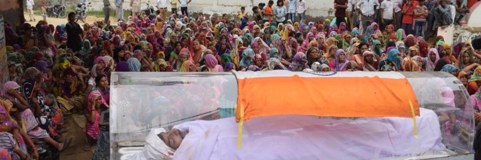 Was Draping Dadri Accused in an Indian National Flag Legal