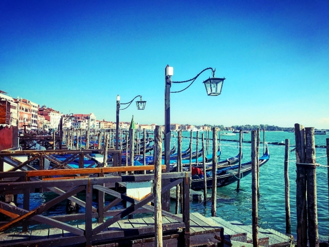 Venice has an extensive network of water taxis and more expensive private taxis. (Photo Courtesy: Ashwin Rajagopalan)