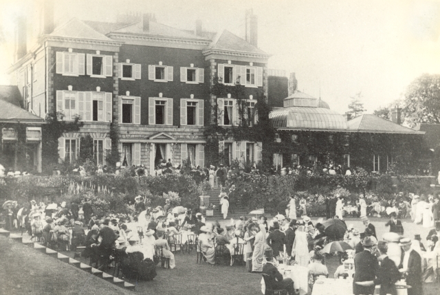 A party at the Twickenham Palace. (Photo courtesy: Tata Central Archives)