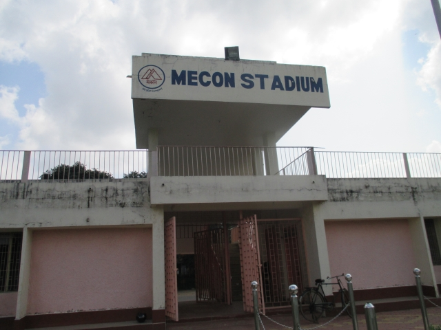The MECON Stadium in Ranchi (Photo: <b>The Quint</b> / Sukanta Adhikari)
