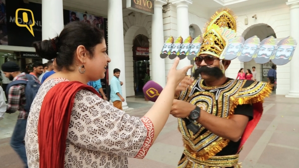 We bring you some of the most whacky, entertaining and dastardly endearing Raavans. (Photo: <b>The Quint</b>)