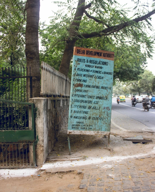 People have been bending the rules of the park, and the board too. (Photo: Abhilash Mallick/<b>The Quint)</b>