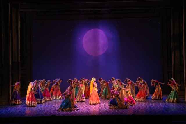 Female actors easily make this show, excellently executing live singing of technically complex songs. (Photo courtesy: NCPA)