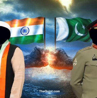 India and Pakistan's armies were born of the same British tradition. Yet, the thought of a coup is laughable in India, but an imminent threat in Pakistan.(Photo: <b>The Quint</b>/Hardeep Singh)