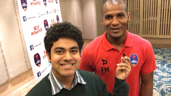 Florent Malouda speaks to <b>The Quint</b>. (Photo: <b>The Quint</b>)
