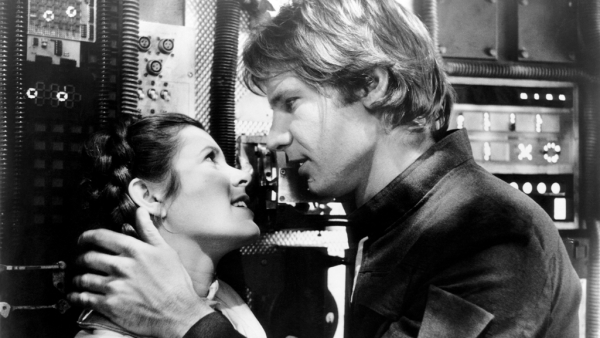 Carrie Fisher played Princess Leia and Harrison Ford played Han Solo in the <i>Star Wars </i>series.