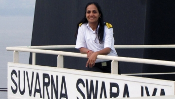 "Captain Radhika Menon won the IMO award for ""exceptional bravery"". (Photo Courtesy: <a href=""http://www.imo.org/en/Pages/Default.aspx"">IMO</a>)"