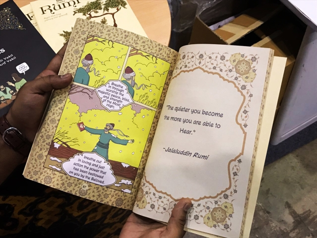 Sufi comics sound like a great idea, to introduce spiritual teachings to a wider audience. (Photo: Parul Agrawal/<b>The Quint</b>)
