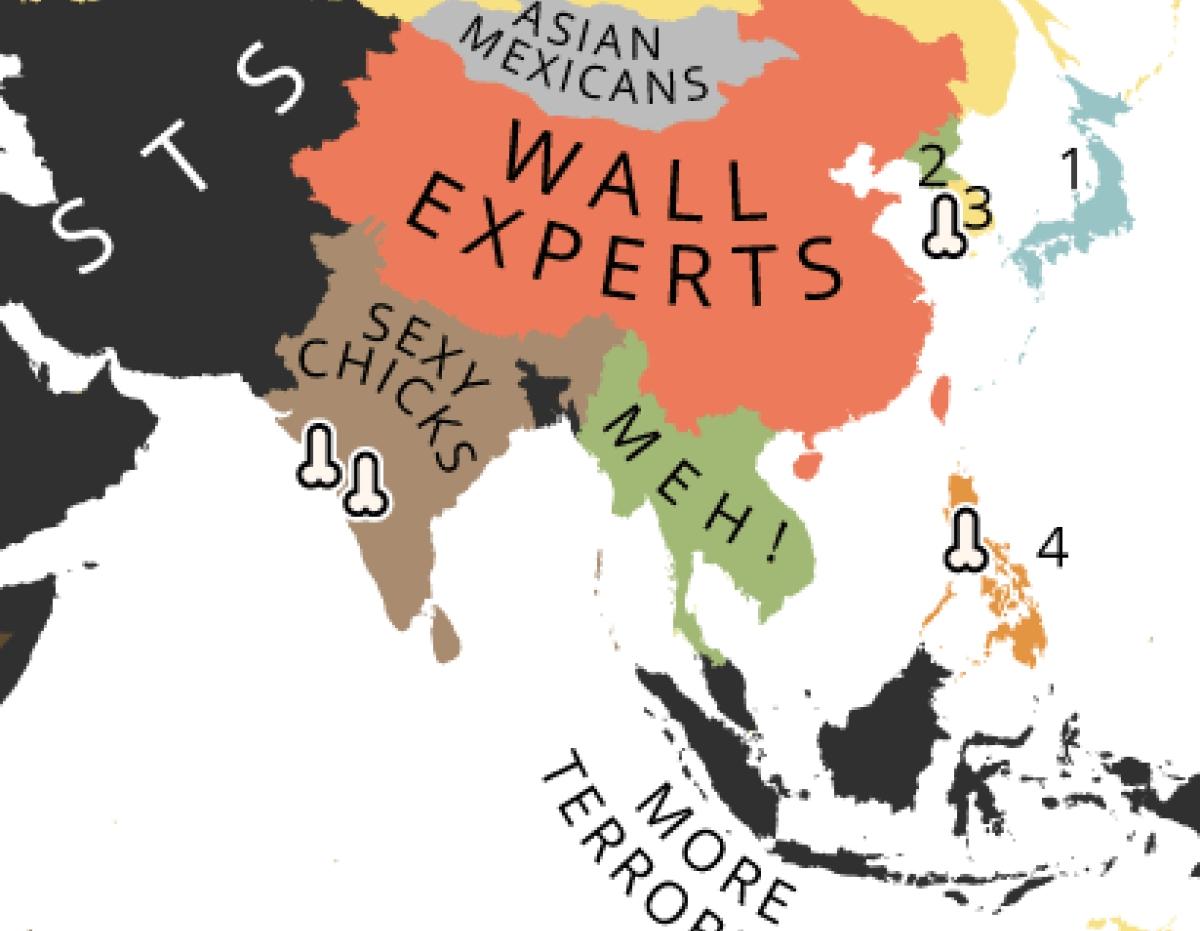 the world according to donald trump by yanko tsvetkov image courtesy