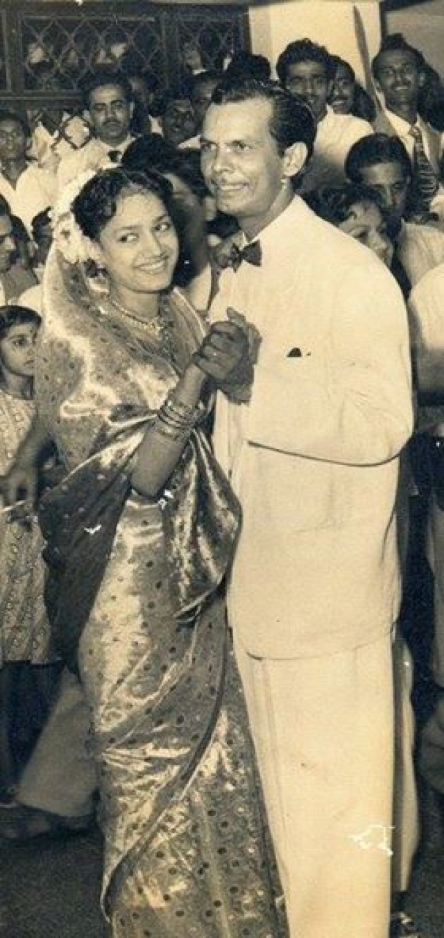 "Johnny Walker with wife Noorjahan. (<a href=""https://www.facebook.com/TimelessIndianMelodies/photos/a.290435347656731.74061.290348834332049/1248297991870457/?type=3&theater"">Facebook/ TimelessIndianMelodies</a>)"