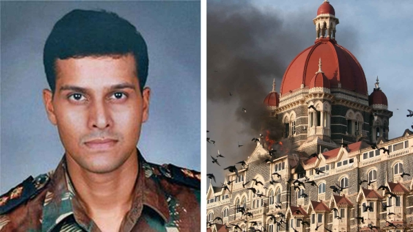 Major Sandeep Unnikrishnan was killed in action during the November 2008 Mumbai attacks. (Photo: Altered by <b>The Quint</b>)