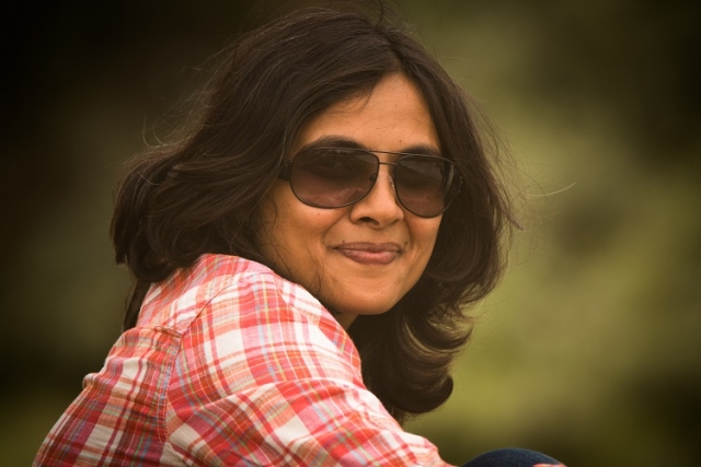 Author Rupa Roy (Photo: The News Minute)