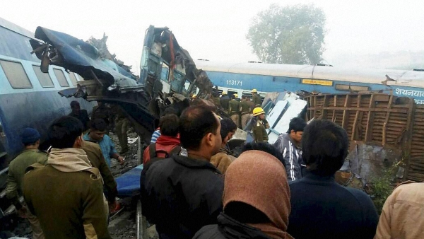 Visuals of the accident site as rescue operations continue. (Photo: PTI)