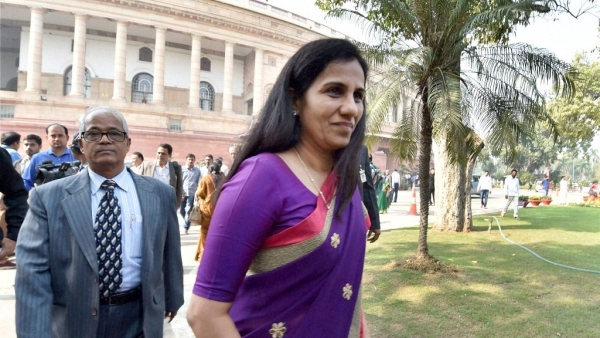 ICICI Bank chairman MK Sharma said CEO Chanda Kochhar (right) was not the chairperson of the committee that sanctioned the loan to Videocon Group.