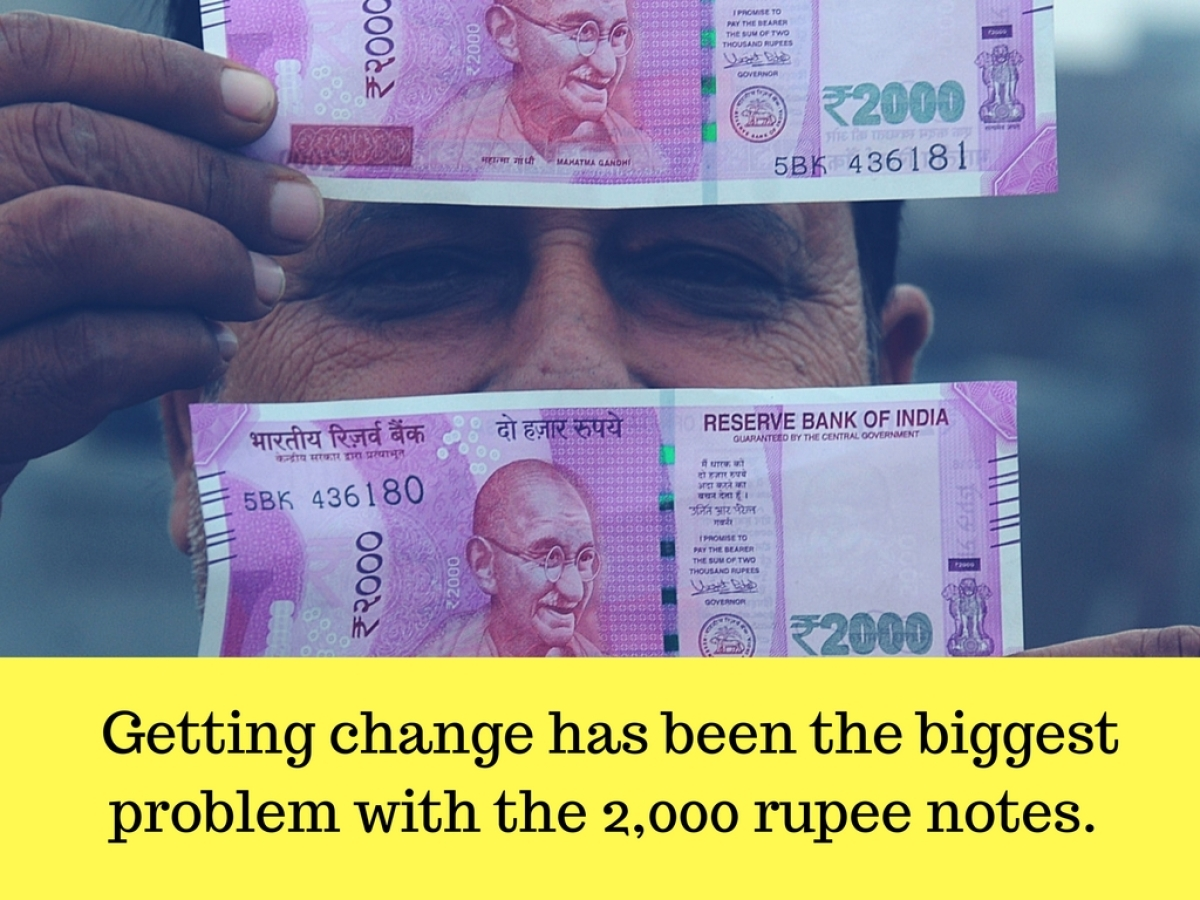 Note Ban: Rs 200, NOT Rs 2,000 Notes Would've Ensured Cash Flow