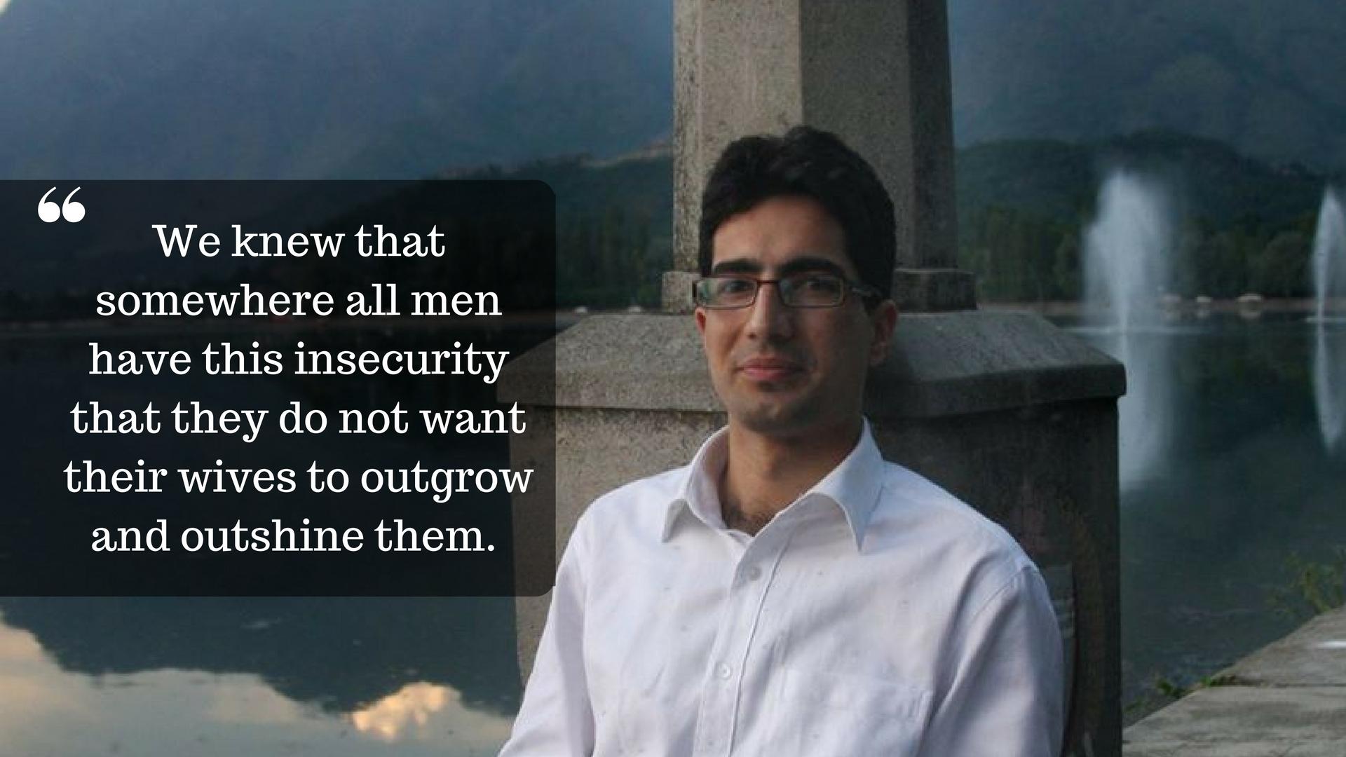 Shah Faesal an IAS officer from Kashmir