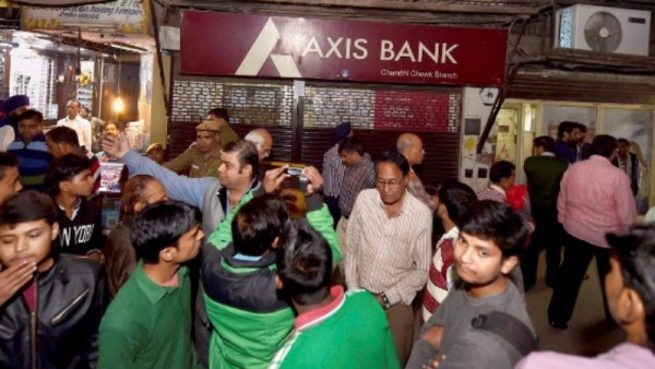 Axis Bank has been in the spotlight for I-T raids and alleged money laundering. (Photo: PTI)