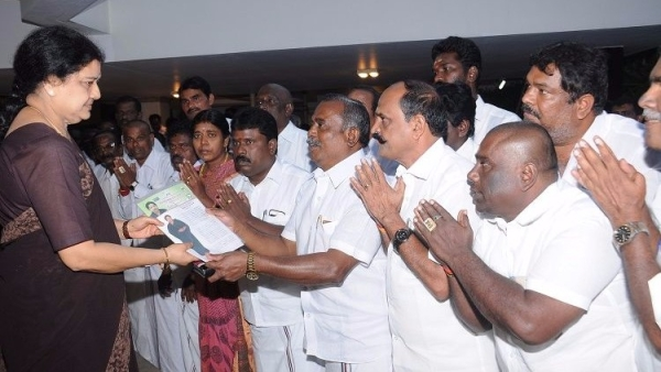 C Ponnaiyan, AIADMK spokesperson,  said that it is clear that Sasikala will be the next party general secretary. (Photo Courtesy: The News Minute)