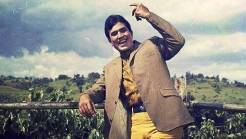 Rajesh Khanna in a scene from <i>Kati Patang</i>. (Photo courtesy: Twitter)