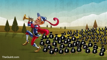 The legend of the Pied Piper has been re-enacted on the national stage following Prime Minister Narendra Modi's demonetisation call. (Photo: <b>The Quint</b>/Harsh Sahani)