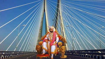 What makes Shivaji, a medieval king, the biggest vote magnet in Maharashtra even today? (Photo: <b>The Quint</b>/Divya Talwar)