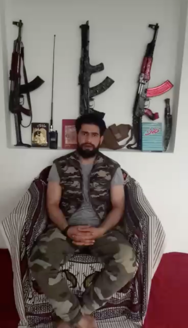 Screenshot of Zakir Musa in the new video. (Photo: <b>The Quint</b>)