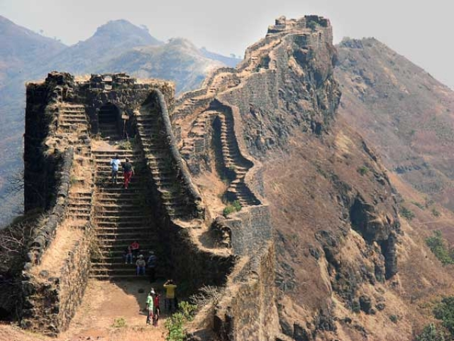 """Fort of Rajgad in Pune district. (Photo Courtesy: <a href=""""http://blog.pune99.com/rajgad-fort/"""">blog.pune99.com</a>)"""