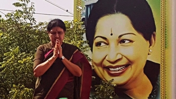 """""""For Amma, party was life. For me, Amma was life."""" (Photo: The News Minute)"""