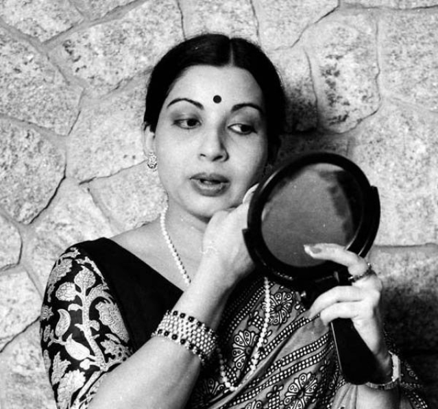 Jayalalithaa quit acting in 1980, but returned to play herself in a film funded by the state government on a social issue.