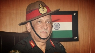 General Bipin Rawat is the new Army Chief. (Photo Courtesy: Press Information Bureau)