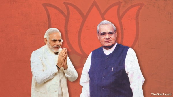 Modi's true tribute to Vajpayee on his 92nd birthday would be to adopt his fine qualities. (Photo: Harsh Sahani/<b>The Quint</b>)