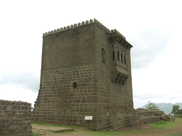 "Birthplace of Chhatrapati Shivaji on the top of Fort Shivneri. (Photo Courtesy: <a href=""http://ebharatdarshan.blogspot.in/2010/07/shivneri-fort.html"">ebharatdarshan.blogspot.in</a>)"