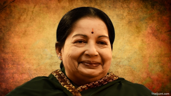 J Jayalalithaa (Photo: <b>The Quint</b>/Liju Joseph)