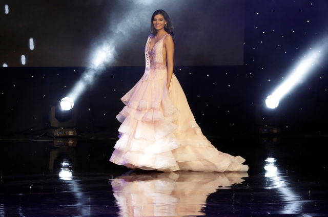 Miss Puerto Rico Stephanie Del Valle participates in the Miss World 2016 Competition. (Photo: Reuters)