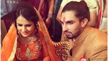 Ishant Sharma and fiancee Pratima Singh. (Photo: Twitter)