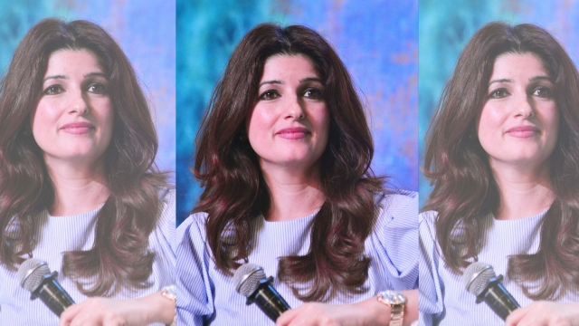 Twinkle Khanna at an event.
