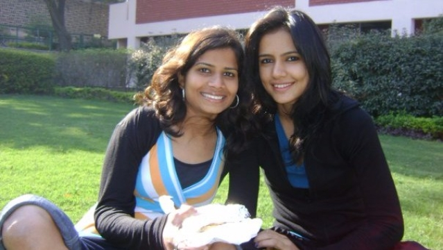 "Pratima Singh (right) graduated from Delhi's Jesus and Mary College. (Photo Courtesy: Facebook/<a href=""https://www.facebook.com/photo.php?fbid=72956201074&set=t.635846074&type=3&theater"">Pratima Singh</a>)"