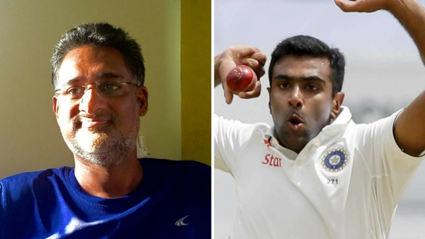 Sunil Subramaniam (L) and R Ashwin. (Photo: <b>The Quint</b>/AP)